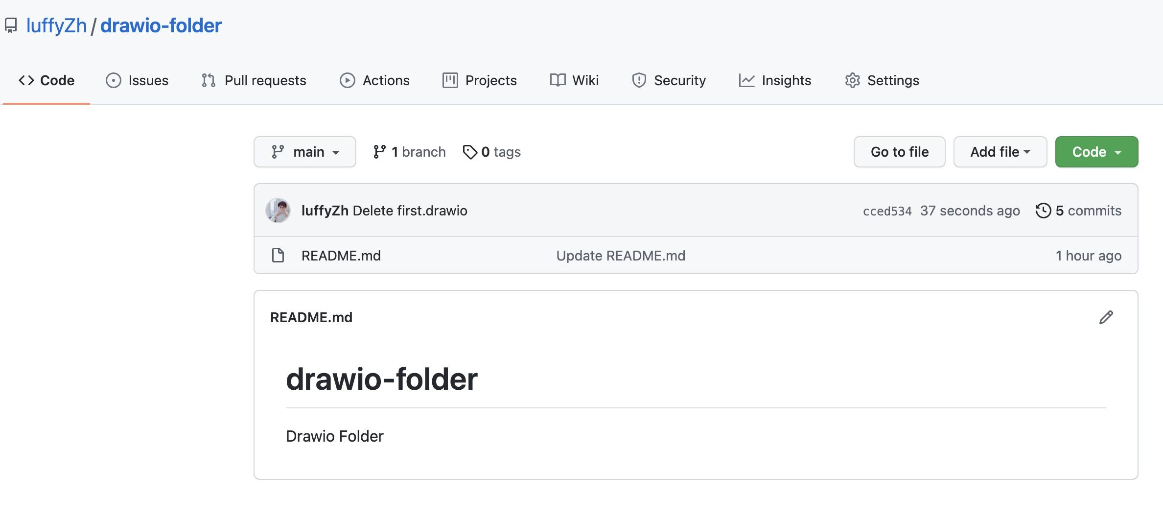 DrawIO Github Folder